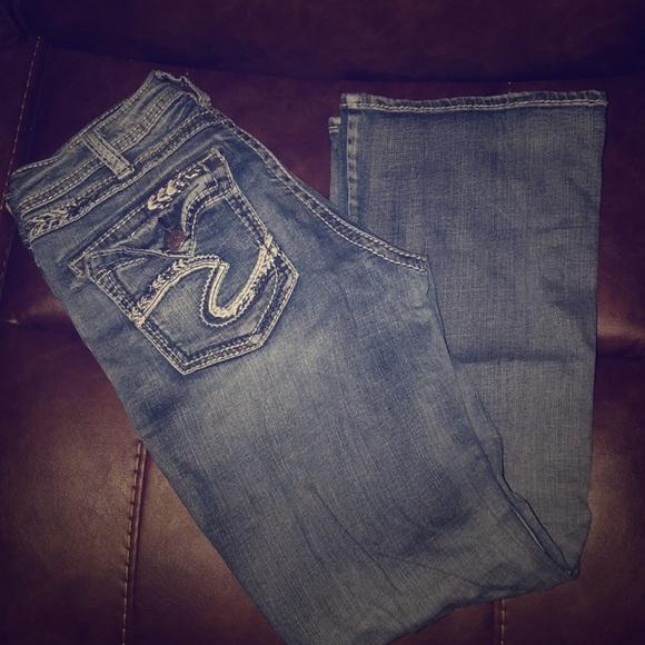Silver Jeans Denim - Silver Suki Jeans